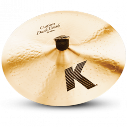 "SYMBAALI ZILDJIAN 15"" K CUSTOM DARK CRASH"
