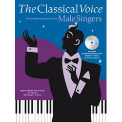 NUOTTI CLASSICAL VOICE: MORE PERFORMANCE PIECES FOR MALE SINGERS +CD