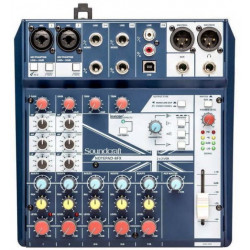 MIKSERI SOUNDCRAFT NOTEPAD 8FX