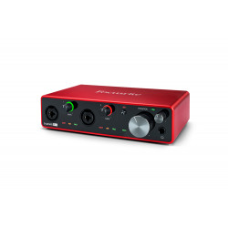 AUDIOINTERFACE FOCUSRITE SCARLETT 4I4 3RD GENERATION