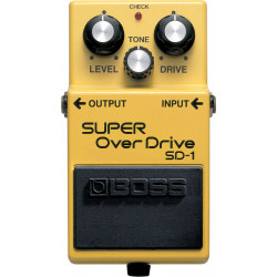 EFEKTIPEDAALI BOSS SD-1 SUPER OVERDRIVE