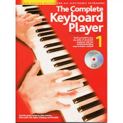 Nuotti Complete Keyboard Player Book 1 +CD