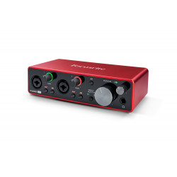 AUDIOINTERFACE FOCUSRITE SCARLETT 2I2 3RD GENERATION